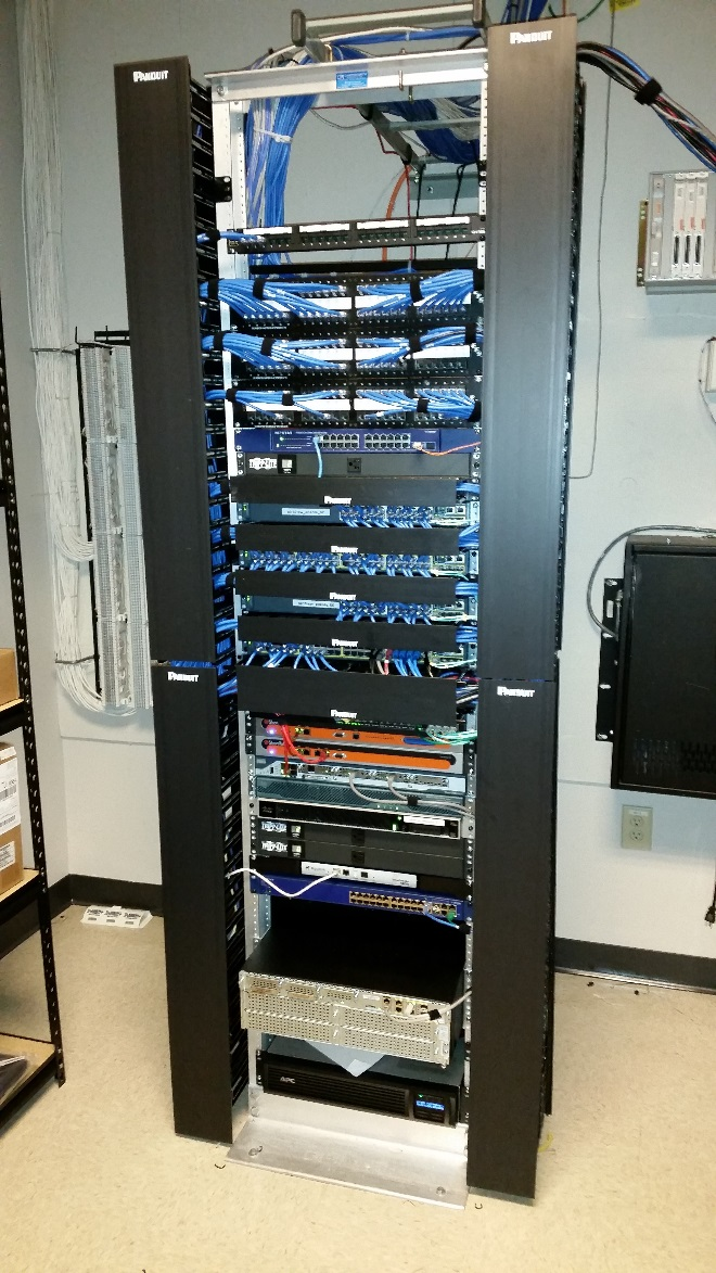 After Cabling Center Image